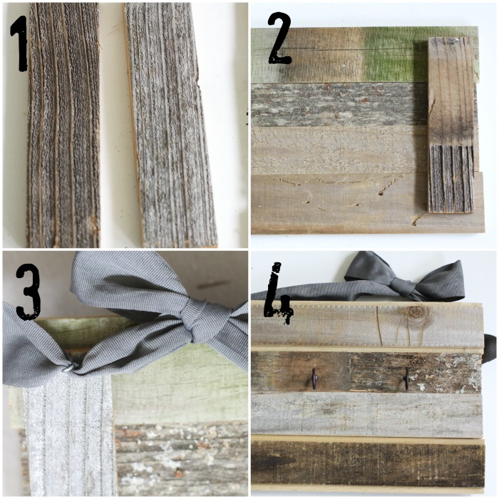 Rustic DIY Jewelry Organizer. How-to. Love of Home