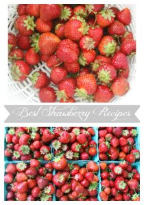 I share the best strawberry recipes. Jam, cupcakes, sauce, parfait and smoothies. Love of Home