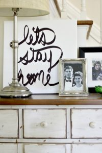 Hand Lettered Canvas Art