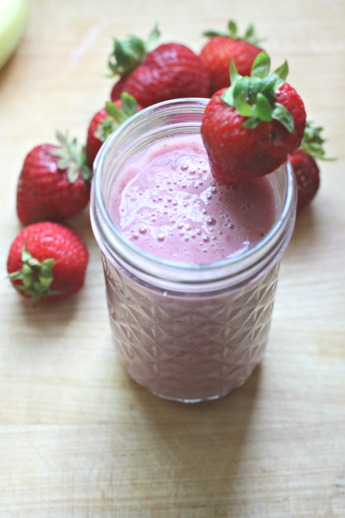 Strawberry Smoothie. Love of Home