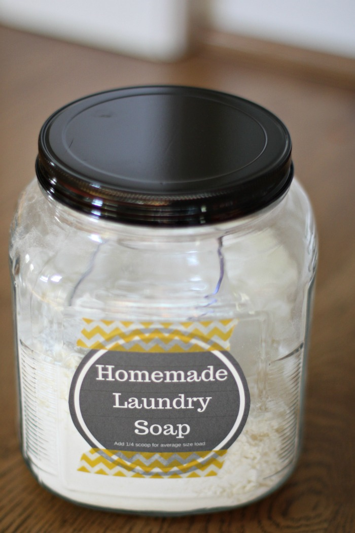 Laundry soap, Make it yourself!