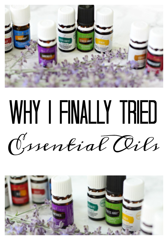 My reasons for trying essential oils.