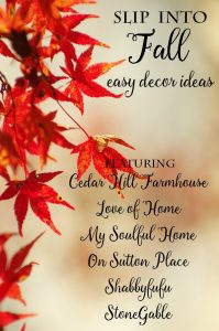6 Pretty Fall Ideas