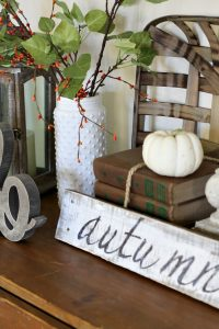 Easy Thanksgiving Vignette