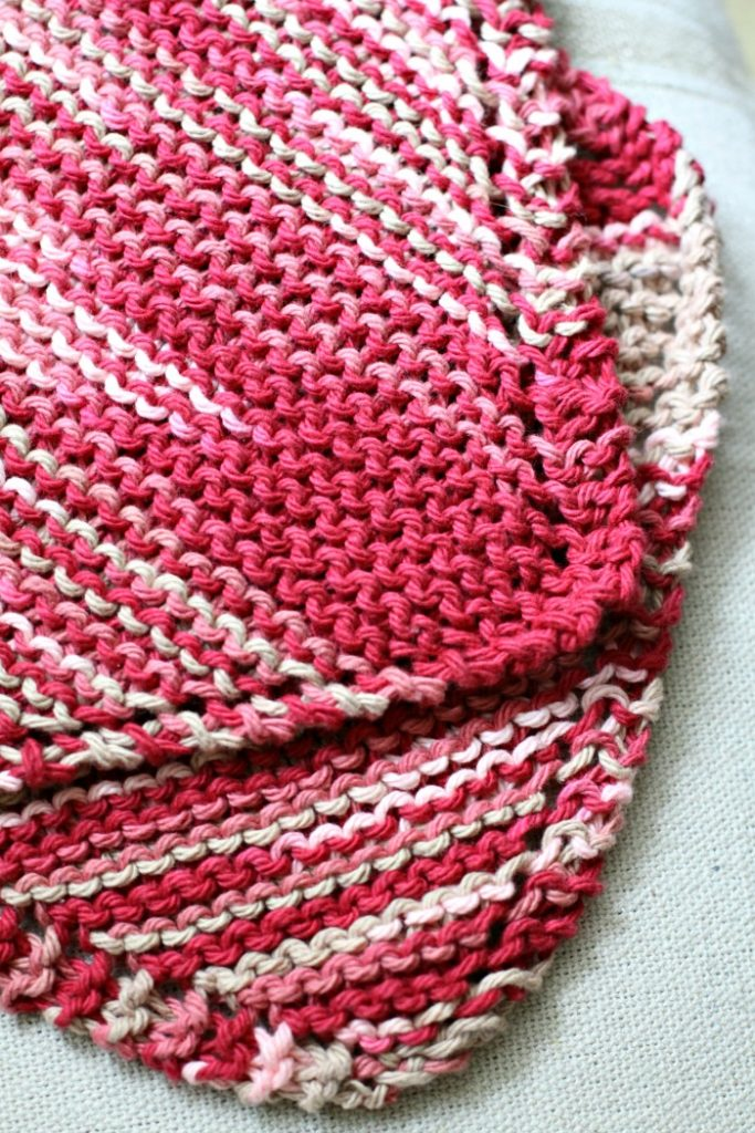 homemade-knitted-dishcloth