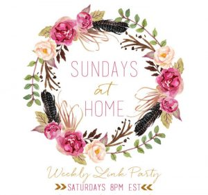 Sundays at Home Week 155