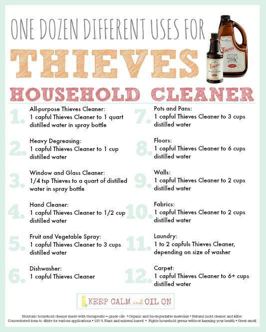 thieves cleaner info